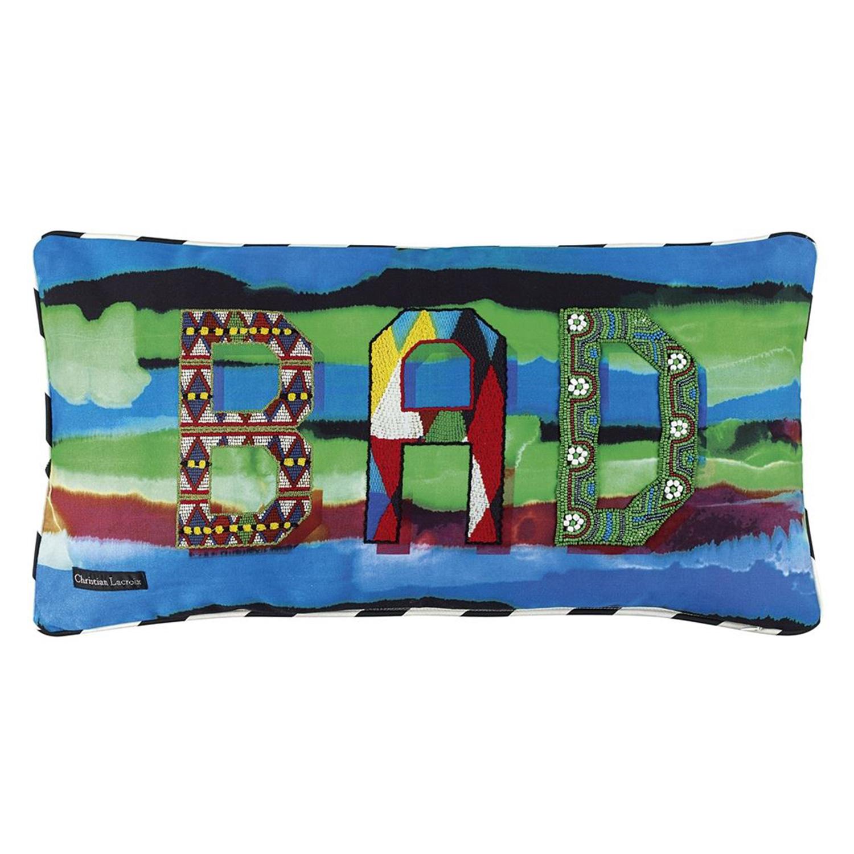 Bad Is Good Arlequin Cushion 60x30cm