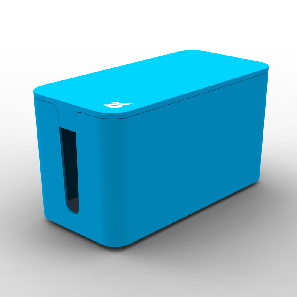Bluelounge CableBox Mini, Blue