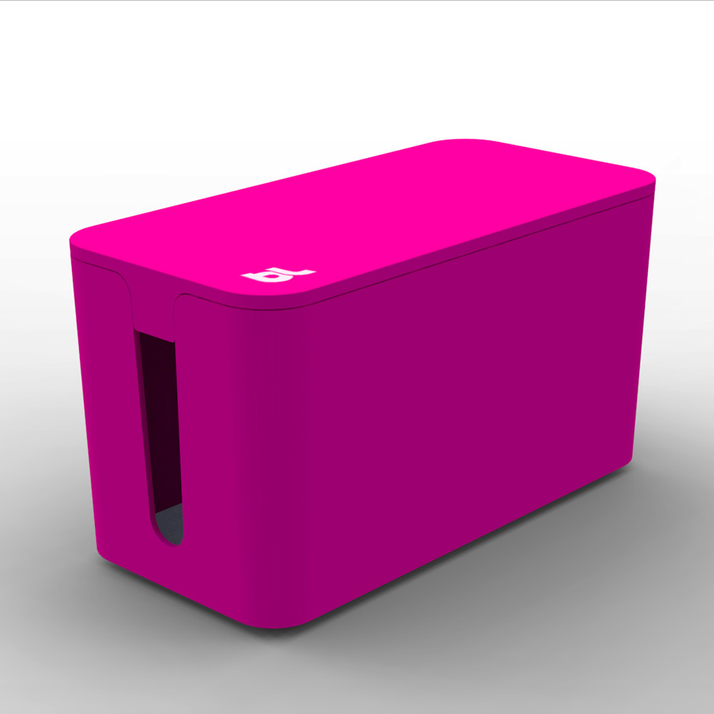 Bluelounge CableBox Mini, Pink