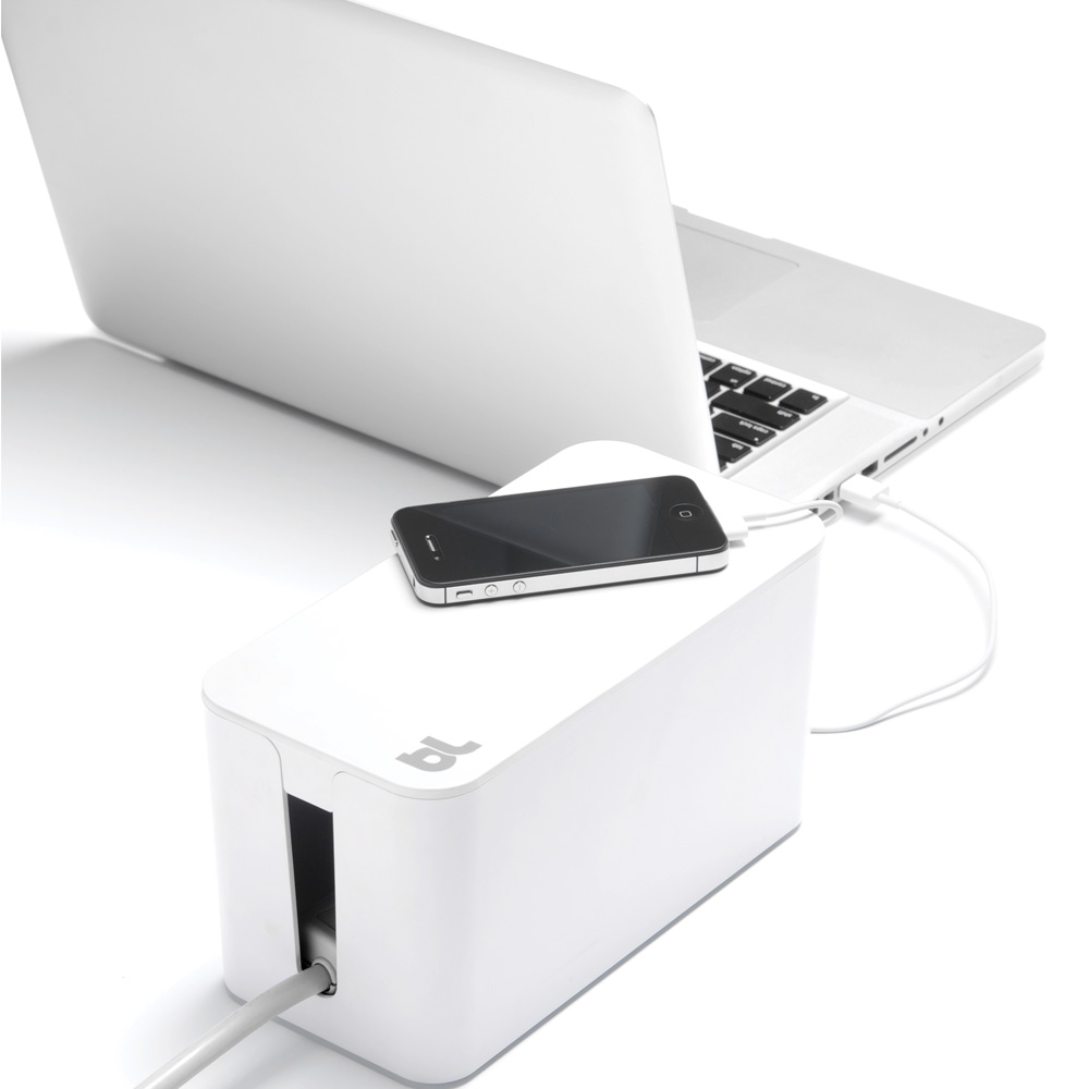 Bluelounge CableBox Mini, White