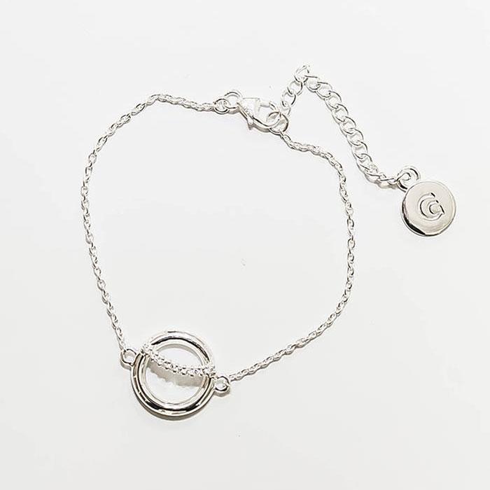 Secret B Bracelet 16+4cm, Sterling Silver
