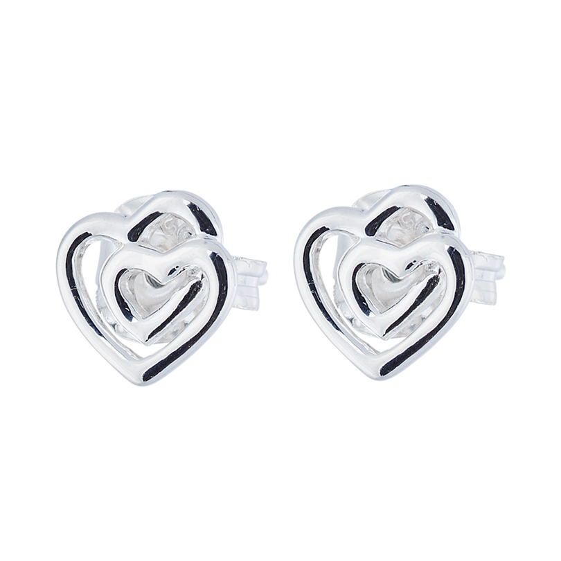 Endless Earrings 7mm, Sterling Silver