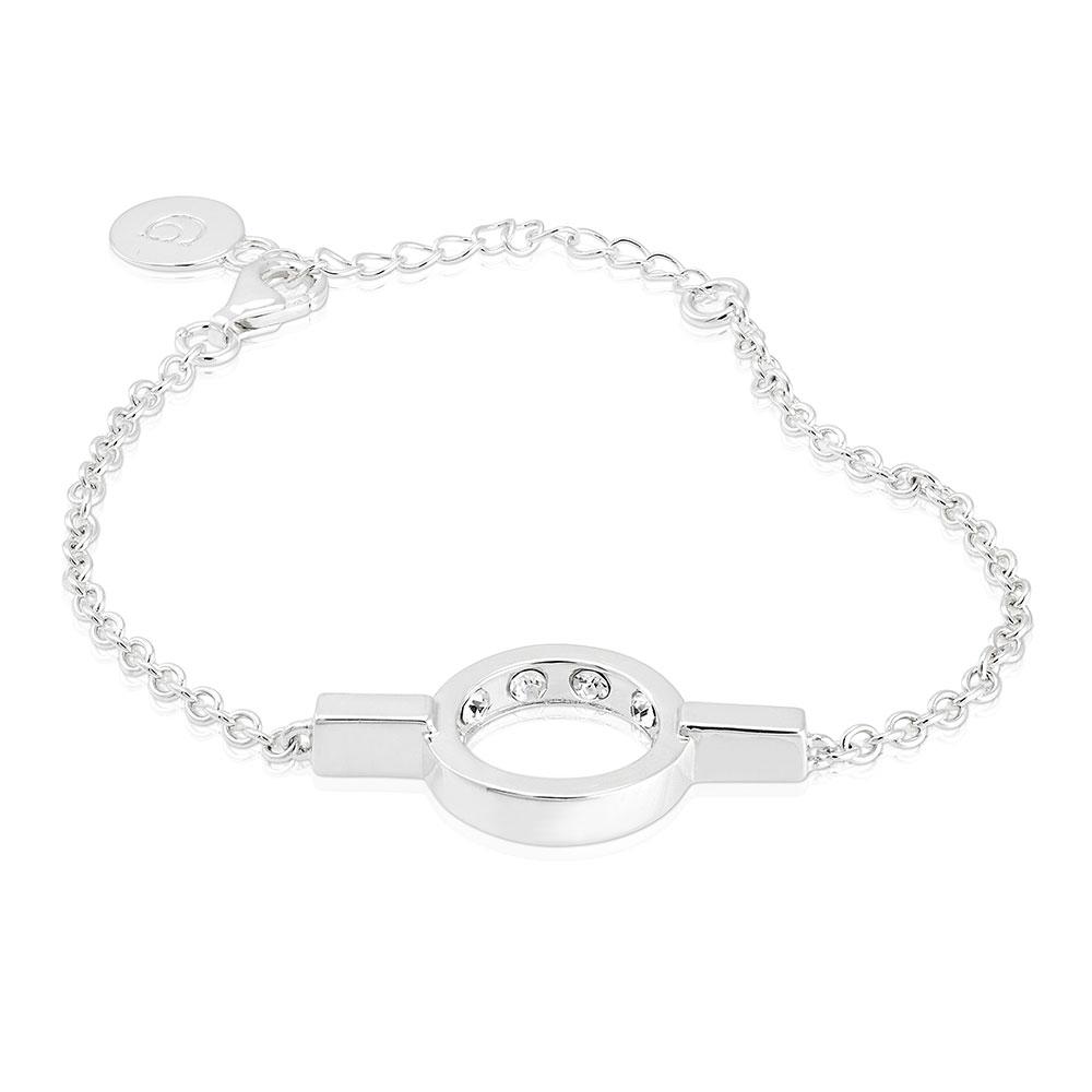 Strength Bracelet, Sterling Silver