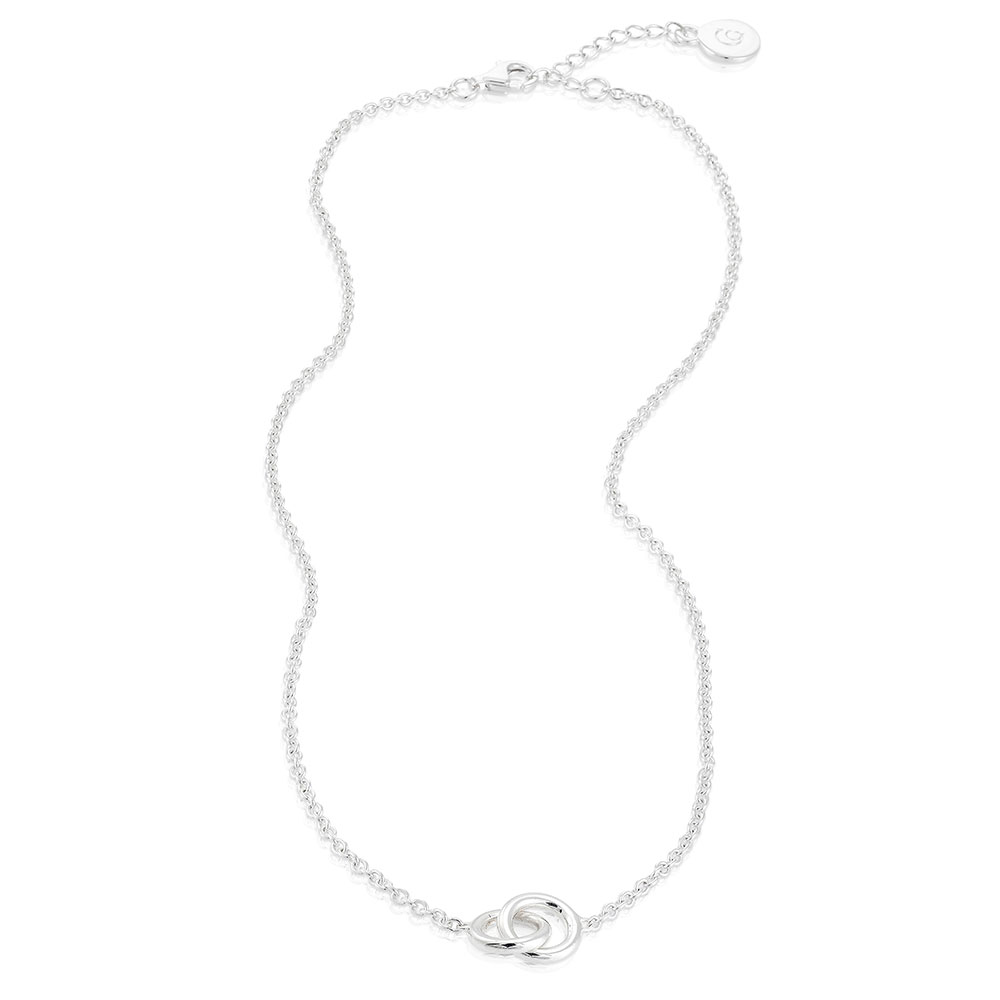 The Knot Necklace, Sterling Silver