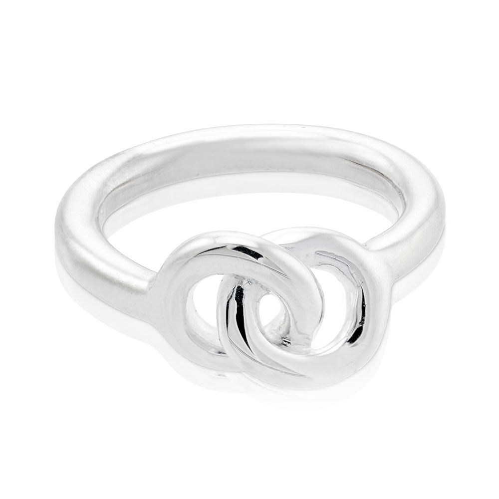 The Knot Ring, Sterling Silver