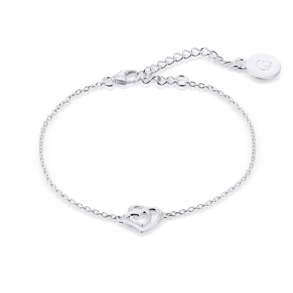 Endless Love Bracelet, Sterling Silver
