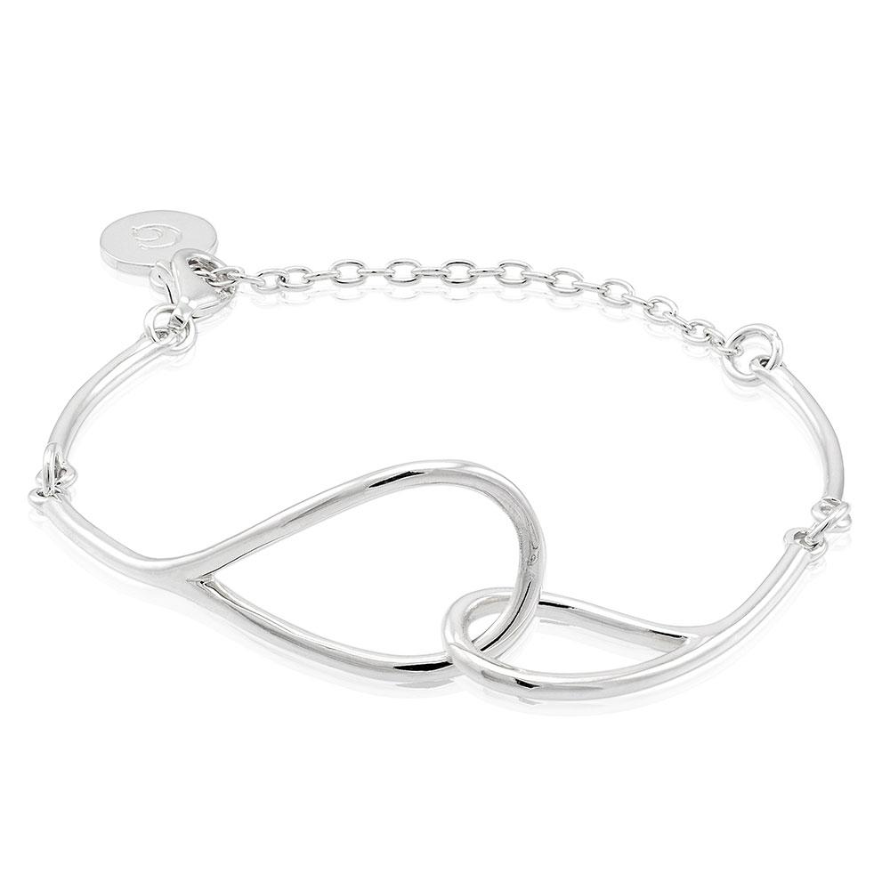 Mira Bracelet Slim, Sterling Silver