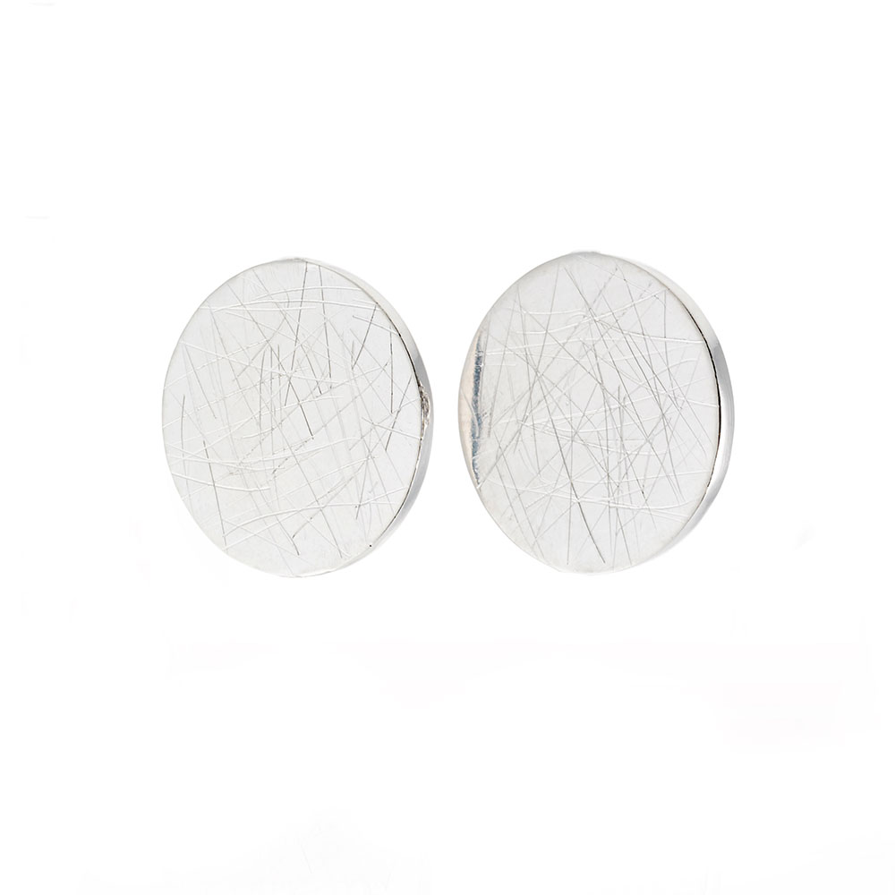 Simplicity Earrings, Sterling Silver