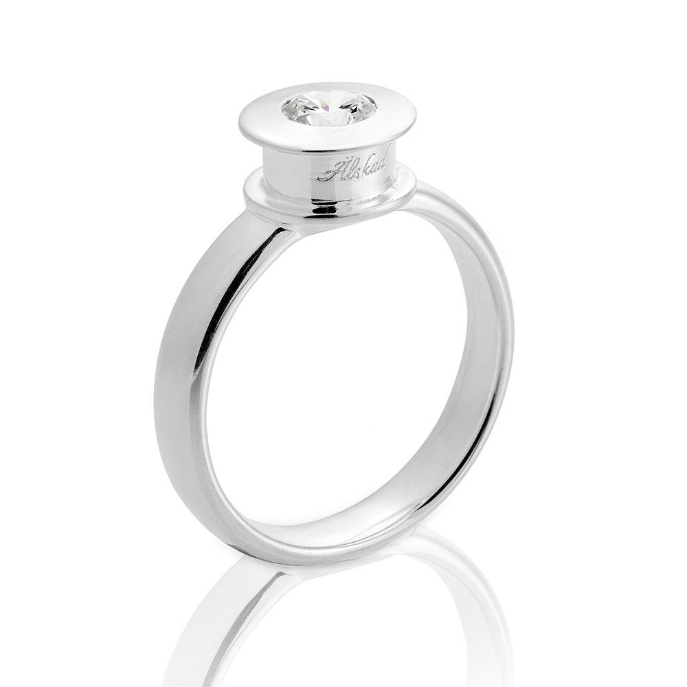+lskad Ring 16,5mm, Sterling Silver