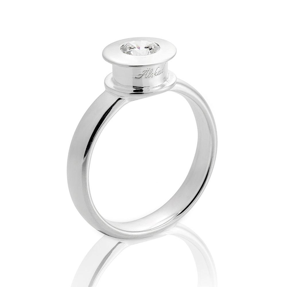 +lskad Ring 17,5mm, Sterling Silver