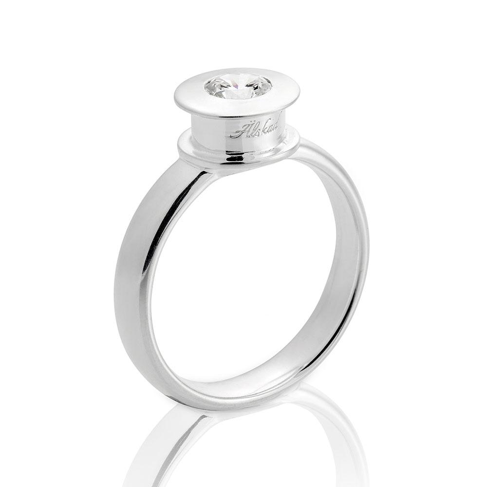 +lskad Ring 18,5mm, Sterling Silver