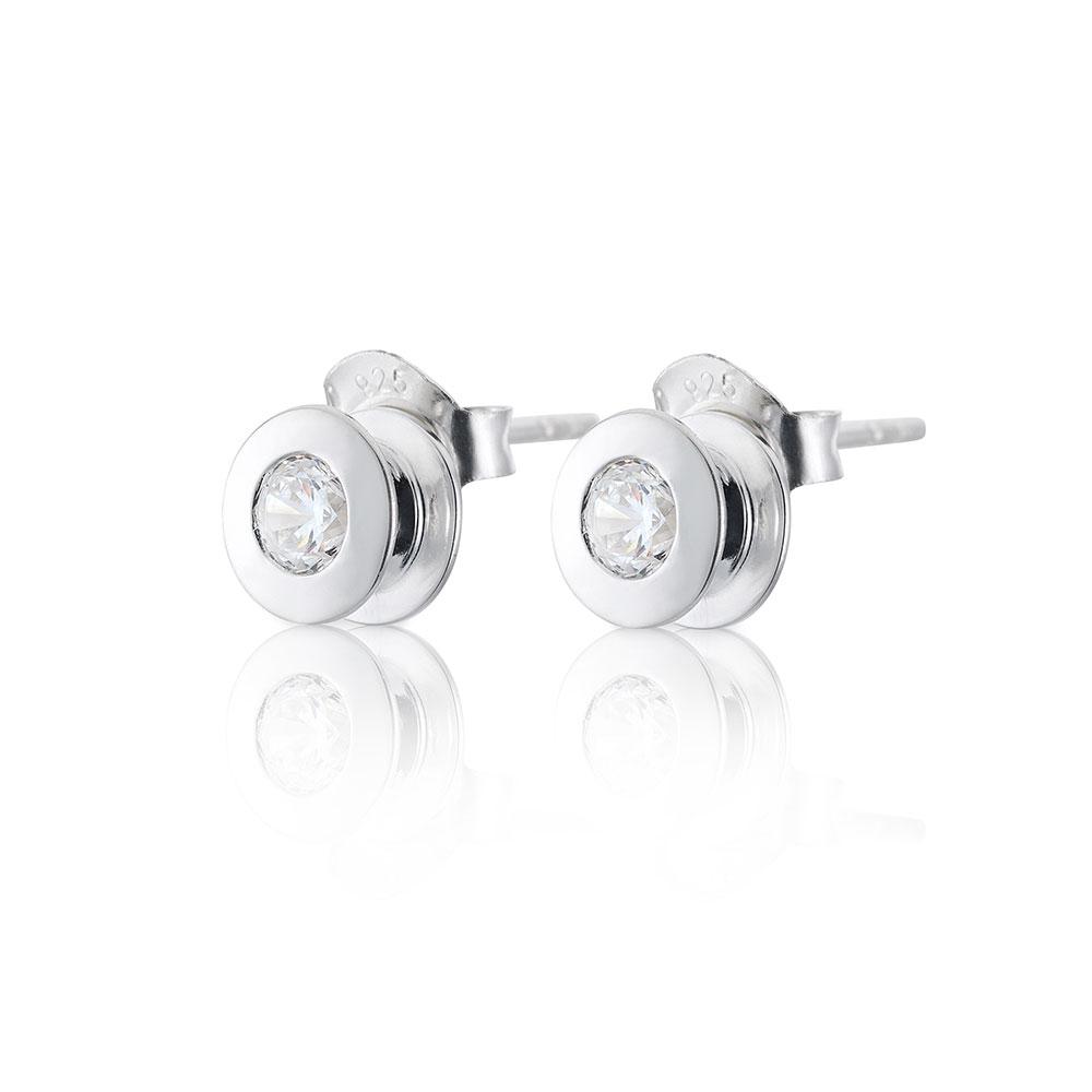 +lskad Earrings, Sterling Silver