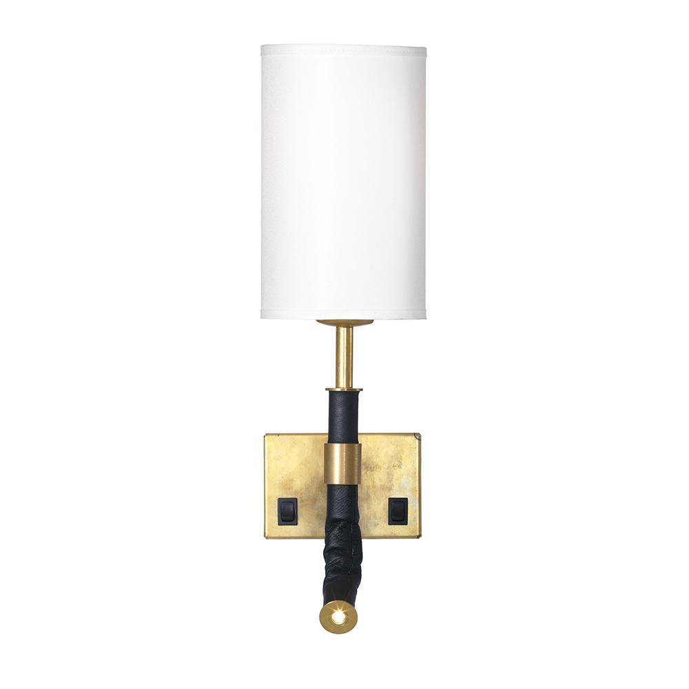 butler wall lamp cord brass white joel karlsson rsj. Black Bedroom Furniture Sets. Home Design Ideas