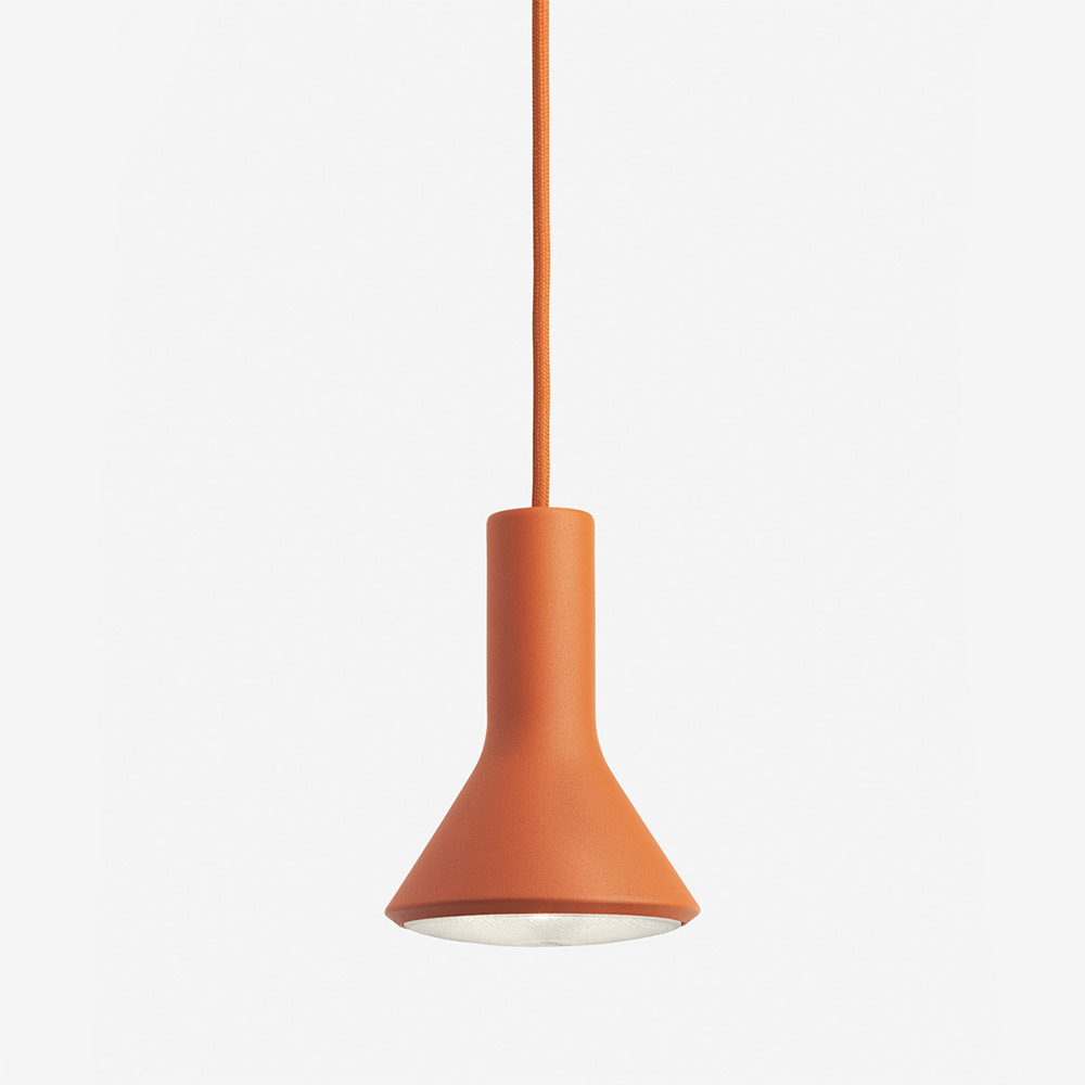 PAR Halogen Pendant Light Orange