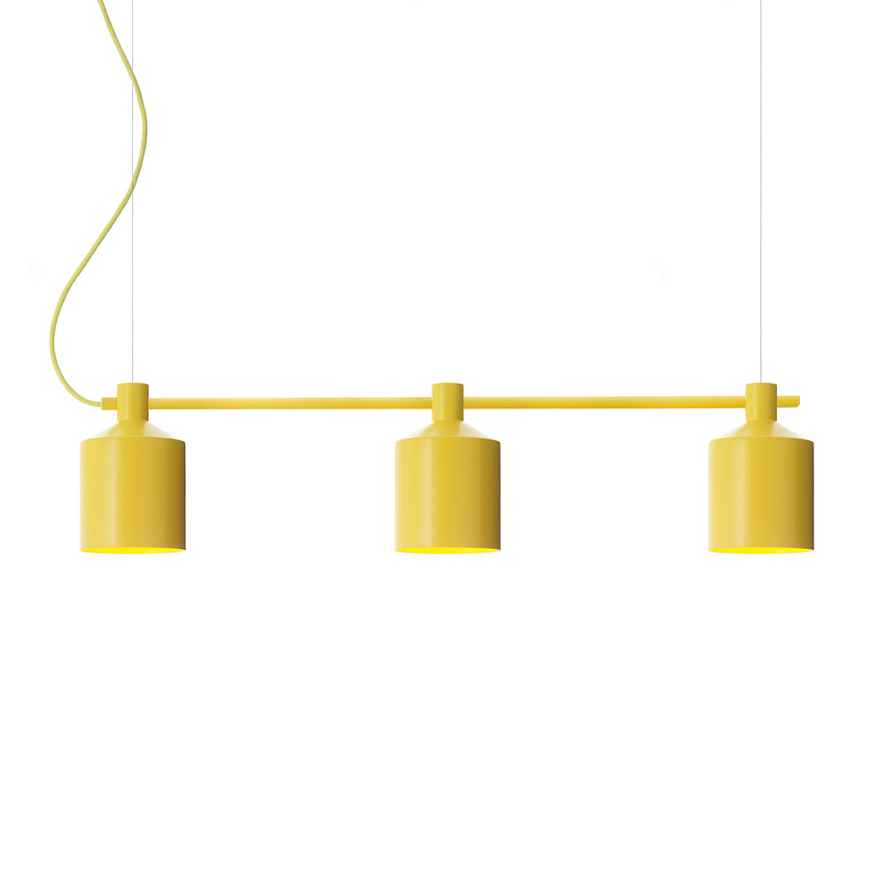 SILO Trio Pendant Light 15 Cm, Yellow