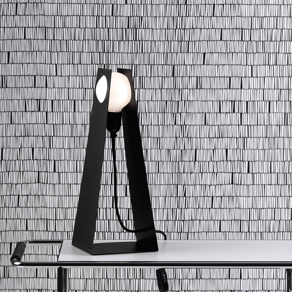 Glasgow Table Lamp Black