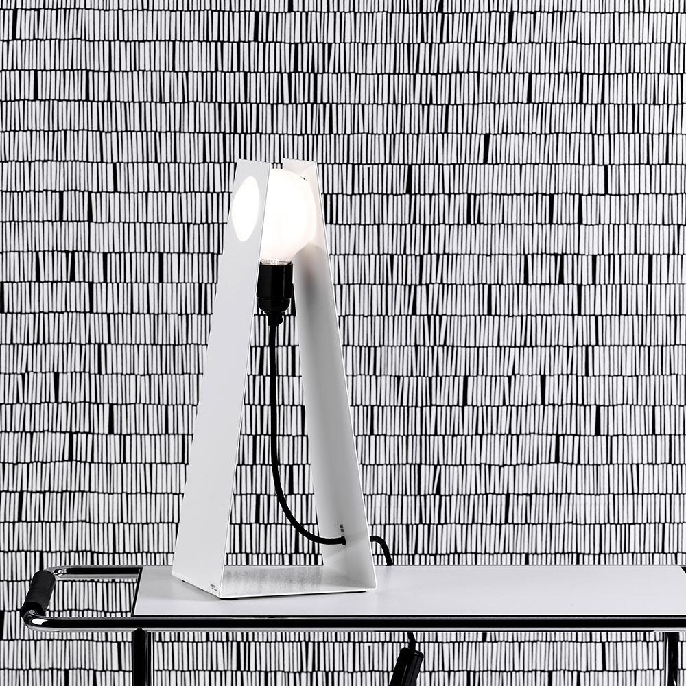 Glasgow Table Lamp White