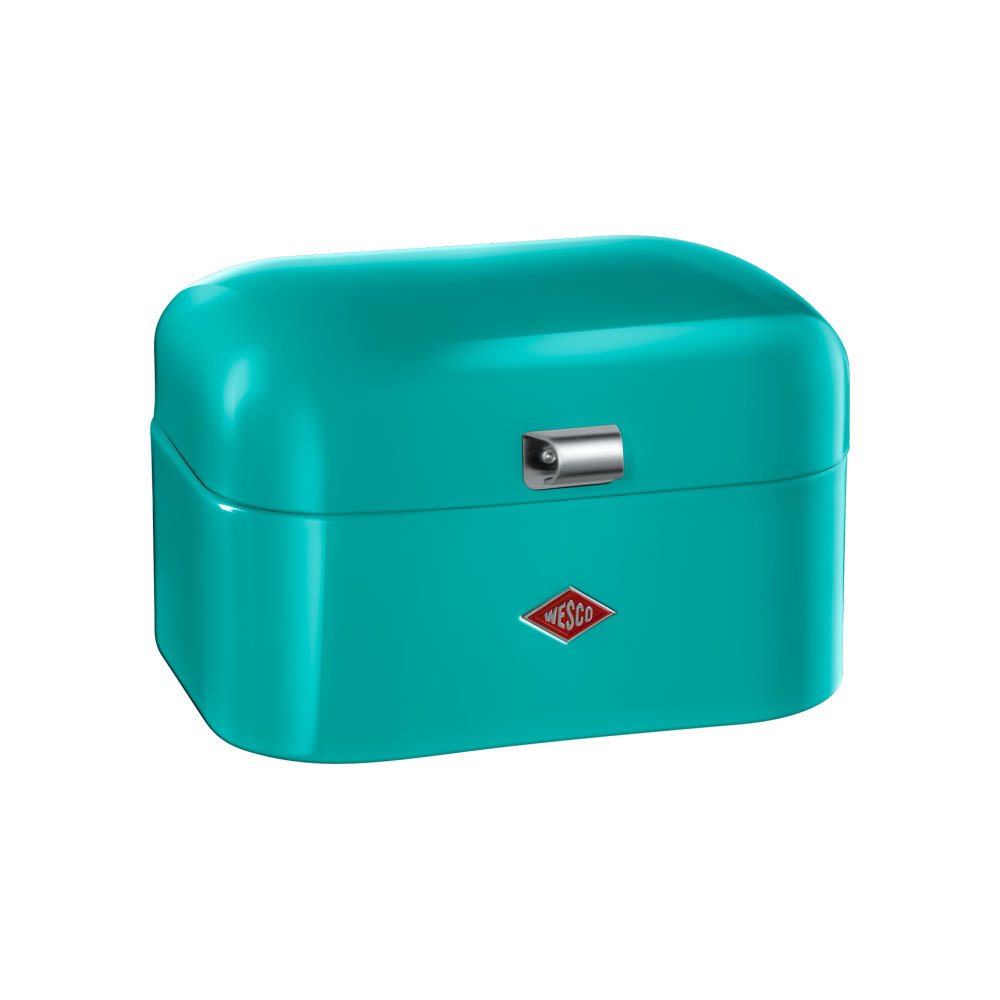 wesco single grandy bread box turquoise wesco wesco. Black Bedroom Furniture Sets. Home Design Ideas
