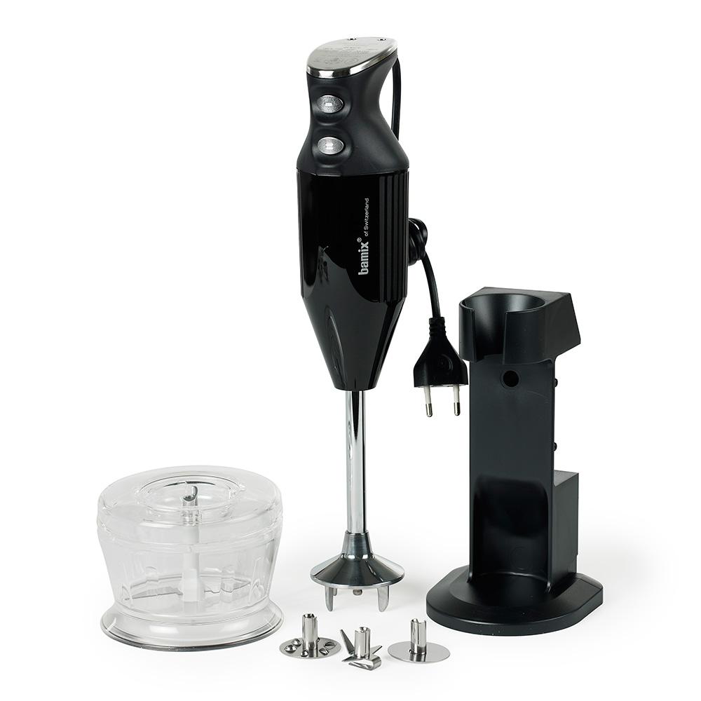 Bamix Deluxe 180W Hand Blender, Black