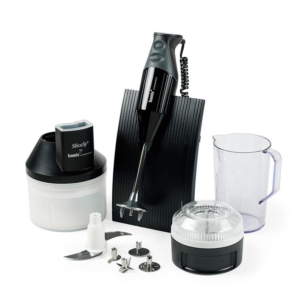 Bamix Swissline 200w Hand Blender/superbox, Black