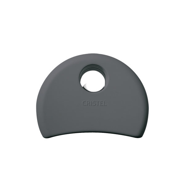 Agate Flat Removable Handle, Grey
