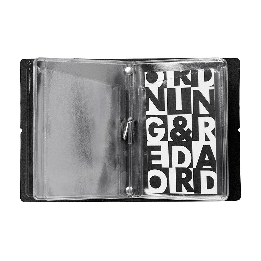 O&R Joshua Business Card Holder Leather, Black - Ordning&Reda ...