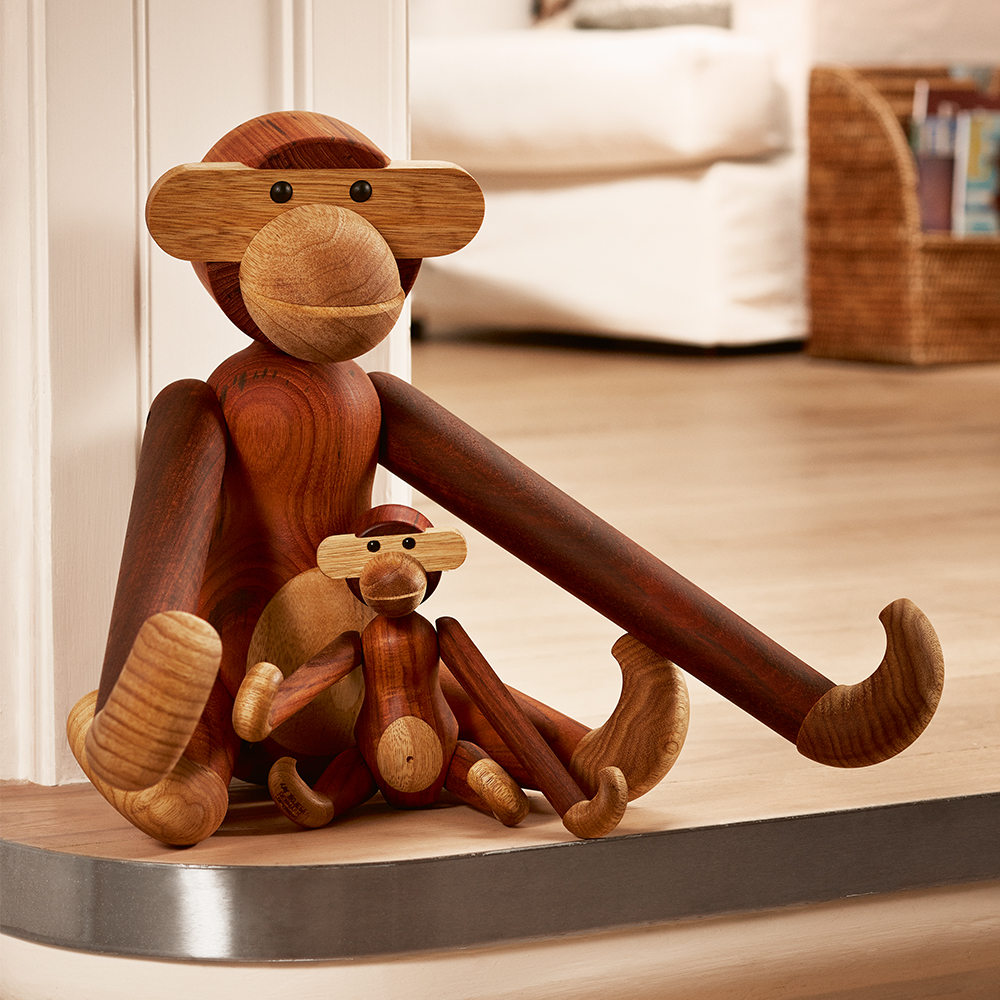 monkey kay bojesen large kay bojesen kay bojesen. Black Bedroom Furniture Sets. Home Design Ideas