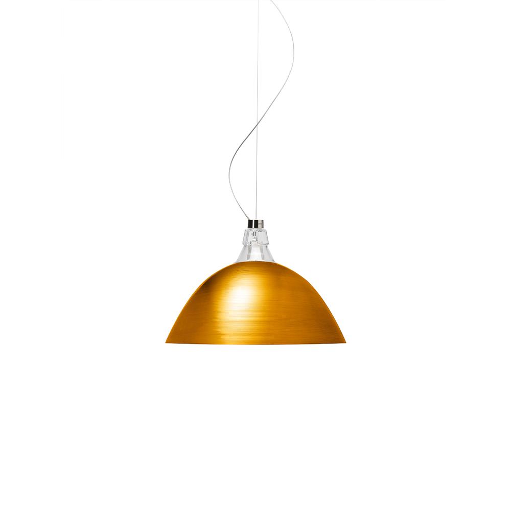 Bell Ceiling Lamp H. 5 m, Bronze