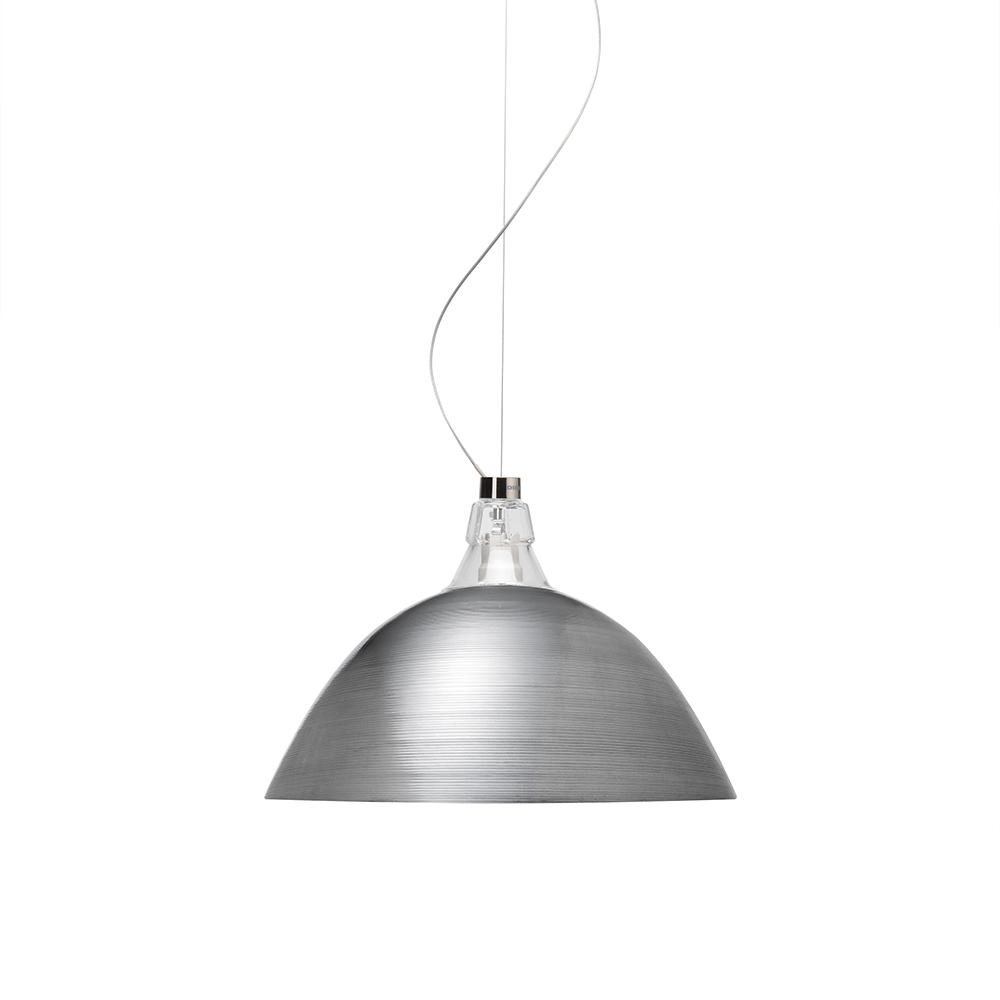 Bell Ceiling Lamp H. 5 m, Aluminium
