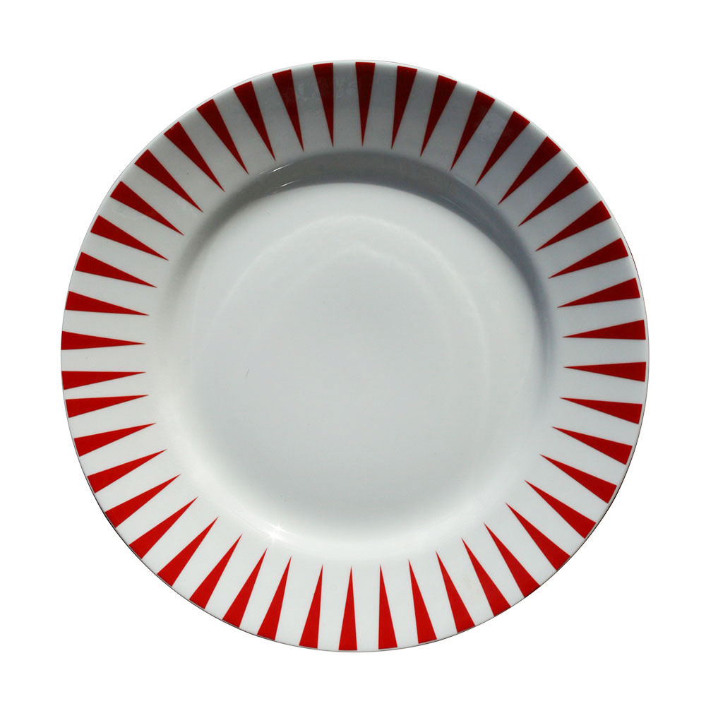 Sailor Red Plate, Large