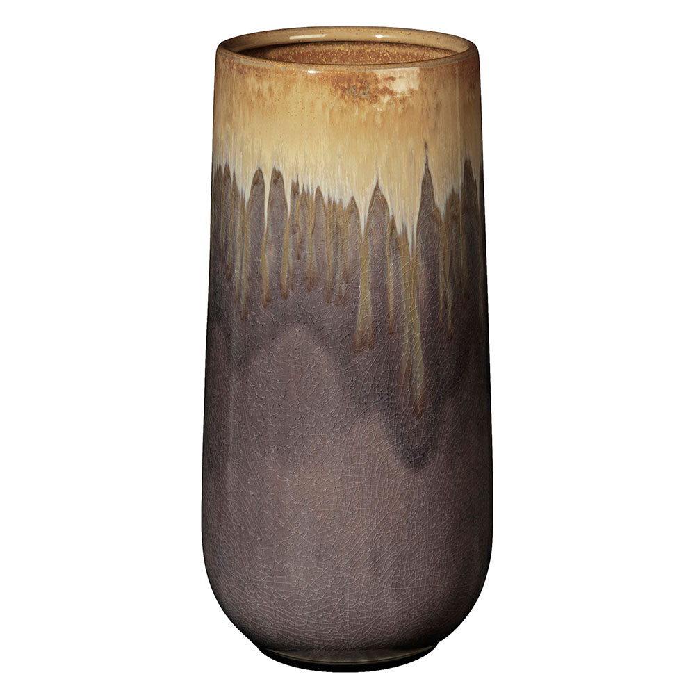 laust cylinder vase large yellow purple broste. Black Bedroom Furniture Sets. Home Design Ideas
