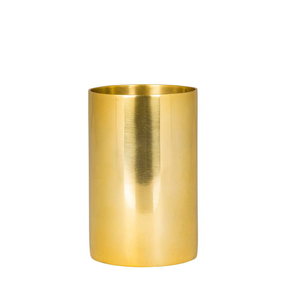 theo vase small brass broste copenhagen broste. Black Bedroom Furniture Sets. Home Design Ideas