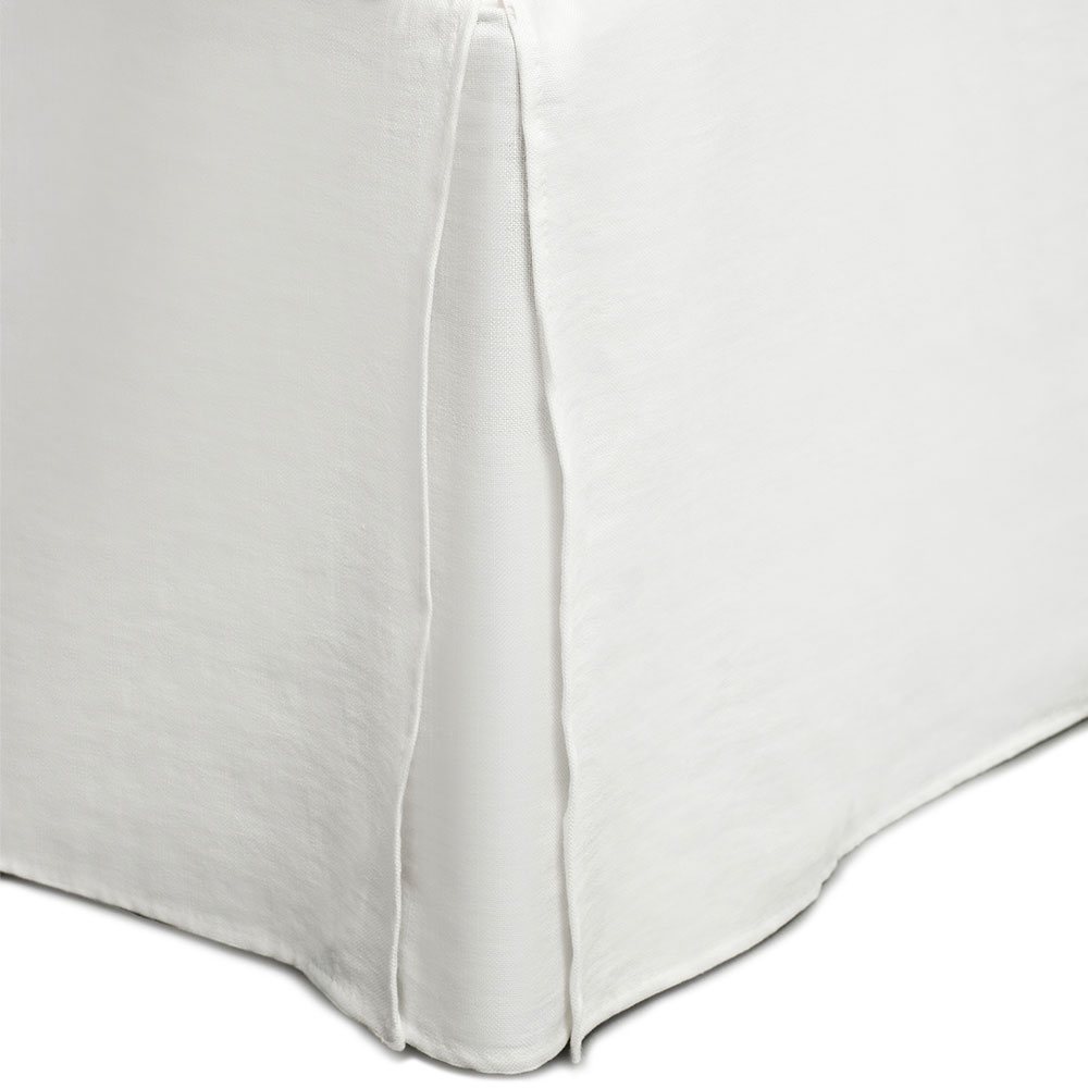 Thea Bedskirt 1600x2200x520mm, White
