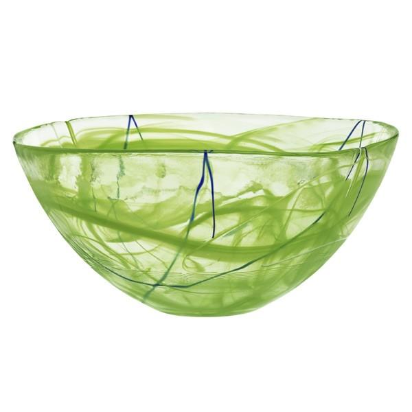 Contrast Bowl Large Lime Anna Ehrner Kosta Boda Royaldesign