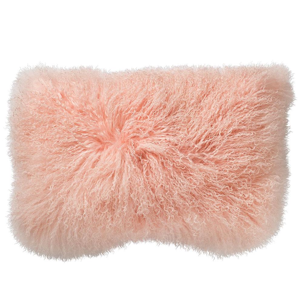 Mongolian Pillow 40x40cm, Nude