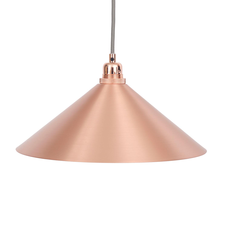 Cone Lampshade Medium, Copper