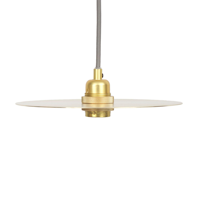 Circle Lampshade Medium, Brass