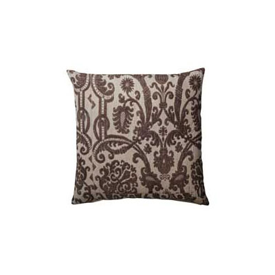 Baroque Cushion Cover 60x60cm, Black