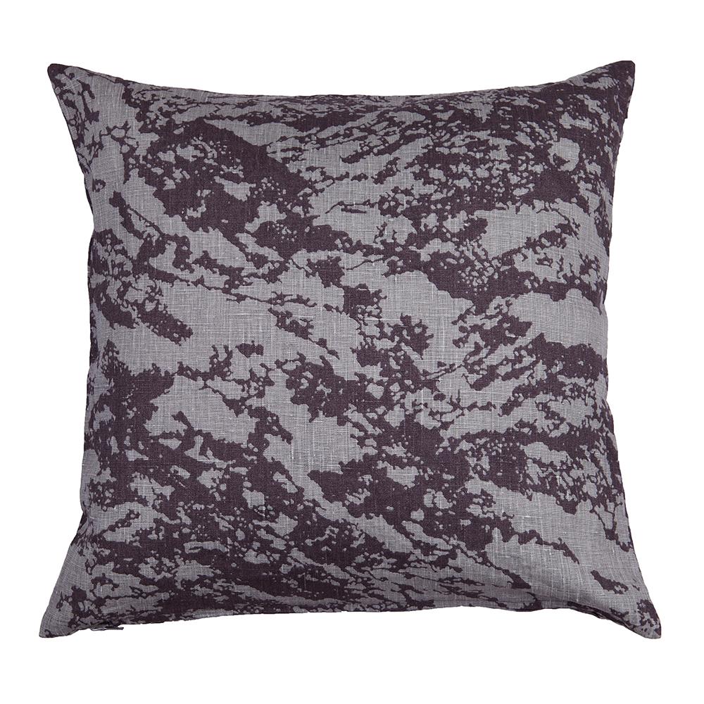 Lava Cushion Cover 50x50 Cm, Grey