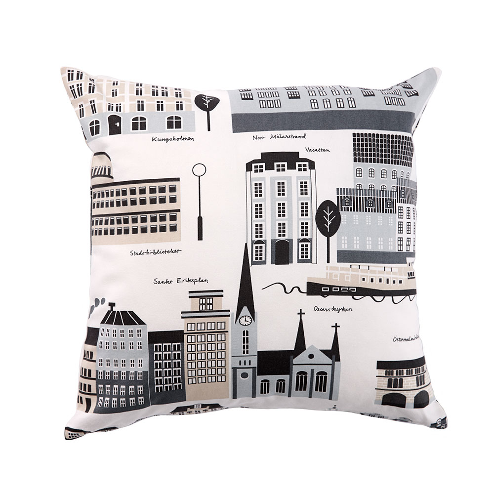 My Stockholm Cushion Cover, Beige