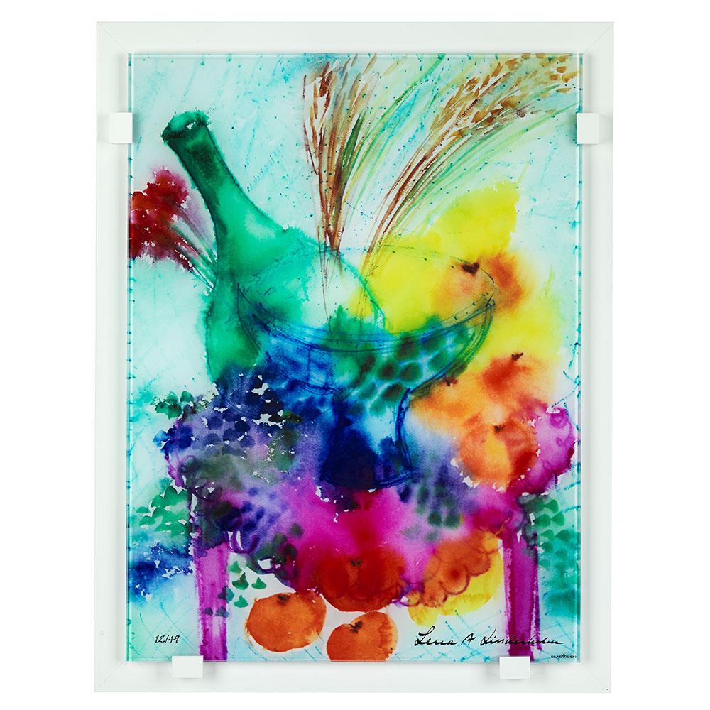 Champagnefrukost Glass Painting Ltd
