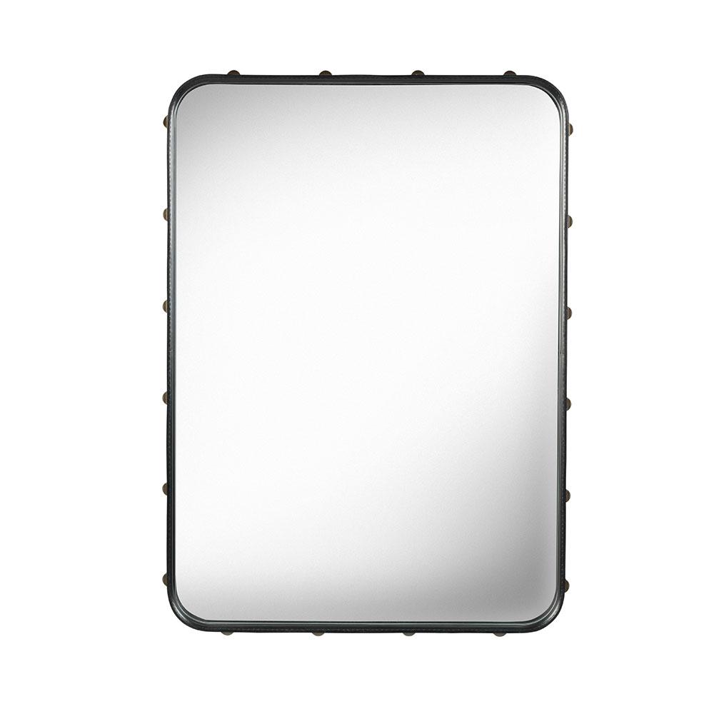 Adnet Mirror 70x48cm, Black