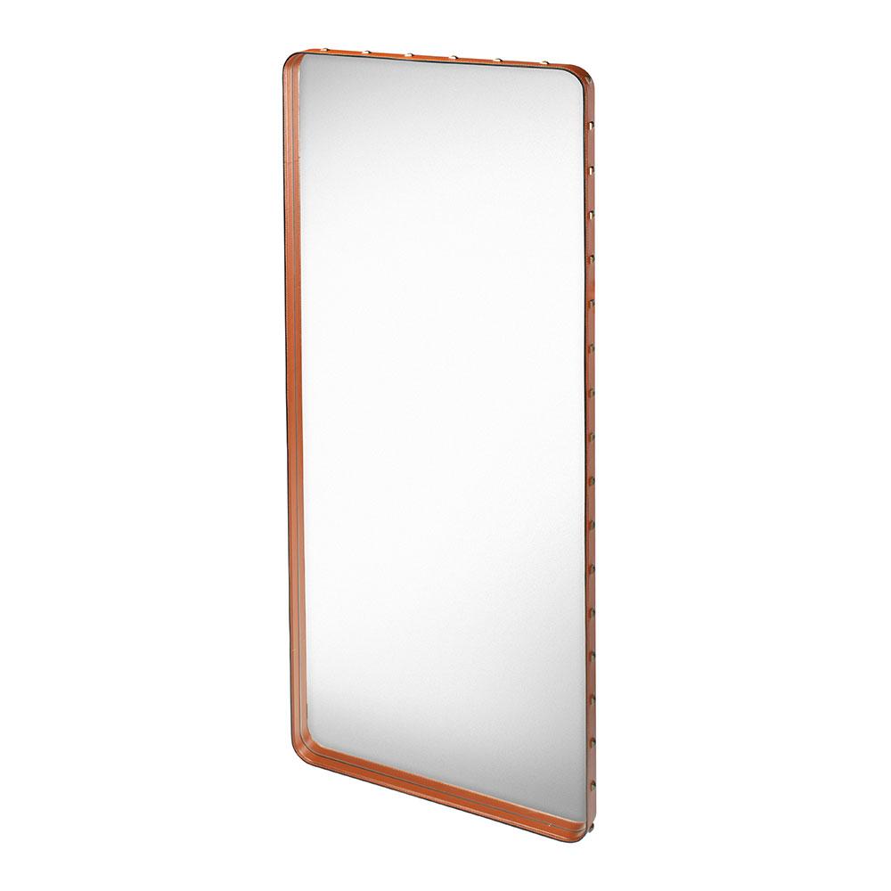 Adnet Mirror 115x70cm, Brown