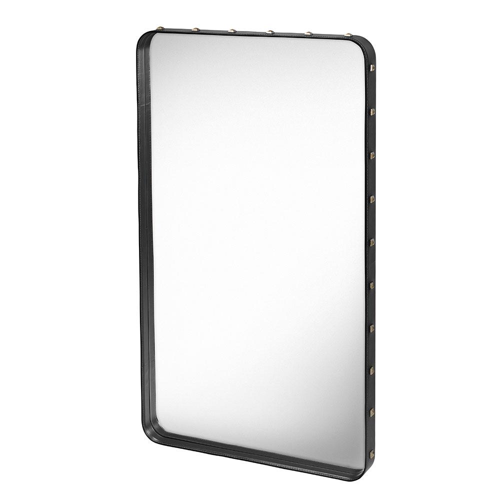 Adnet Mirror 115x70cm, Black