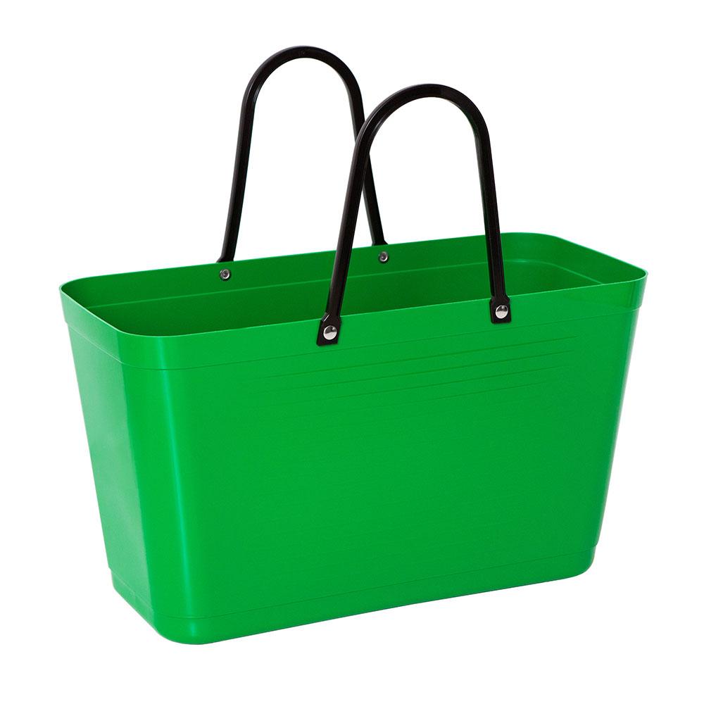 Hinza Bag Large Green Plastic, Green