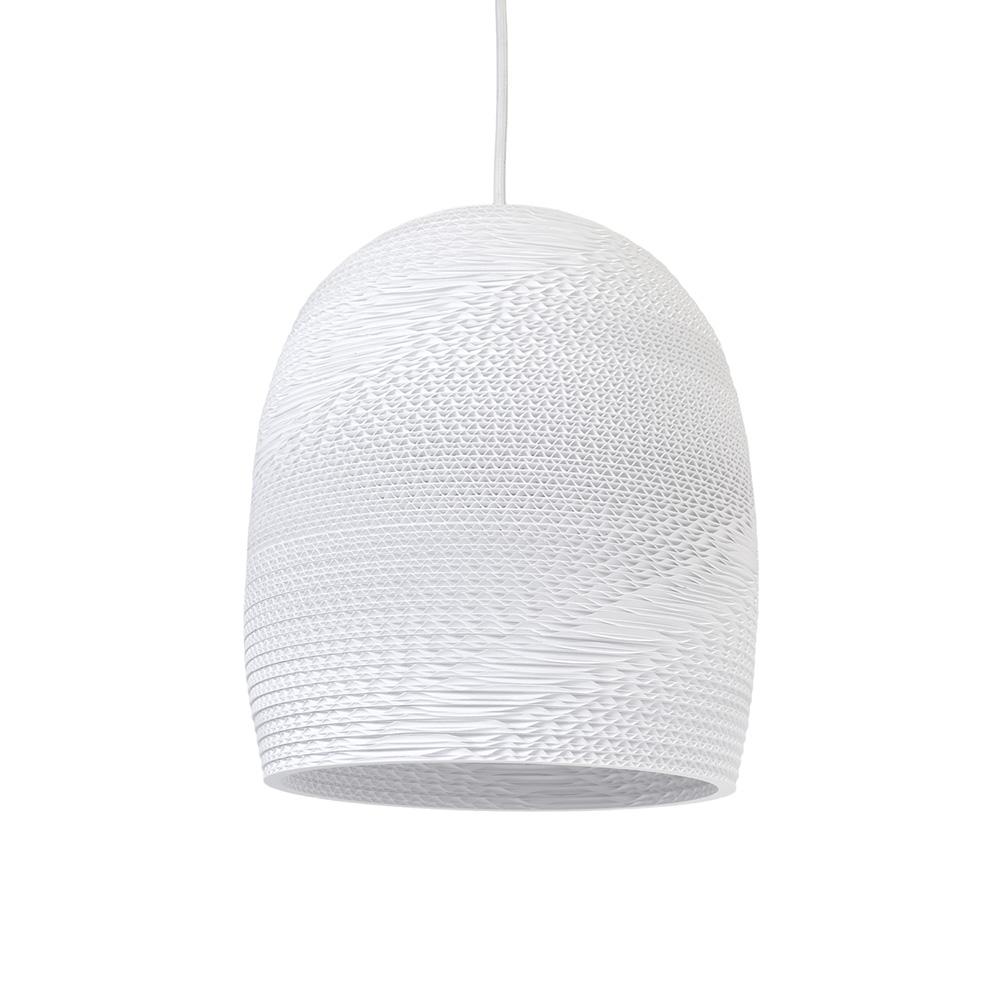 Bell Pendant Nr 10, White
