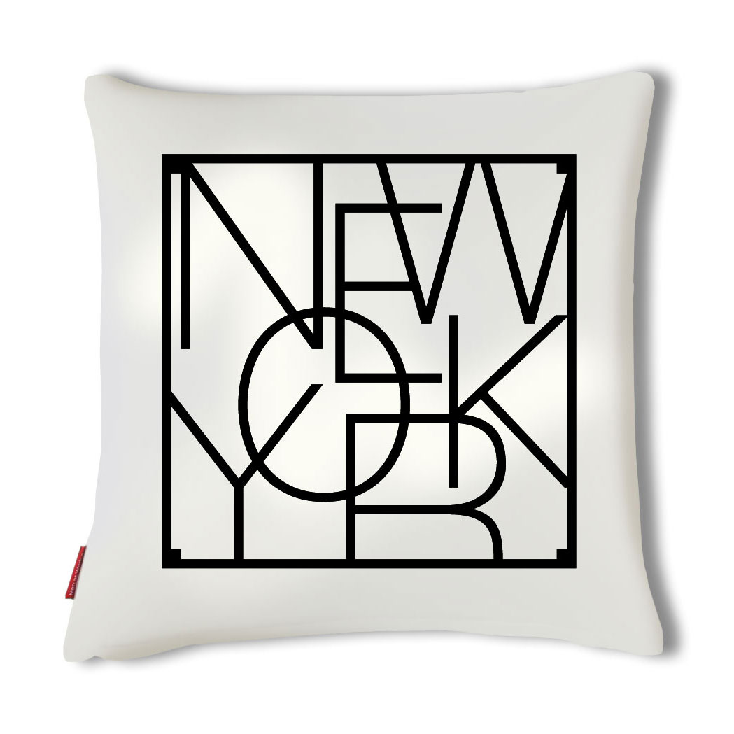 City Cushion Cover, New York