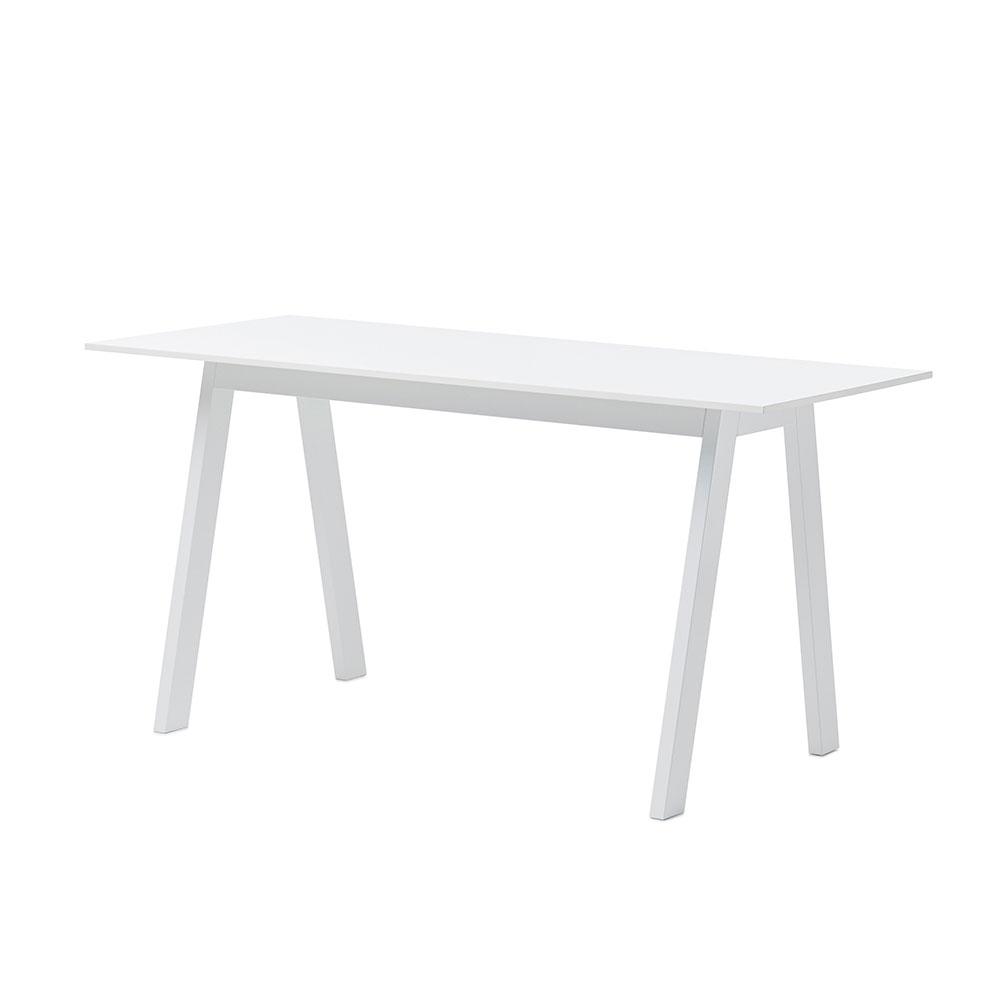 Angle Desk, White/ White