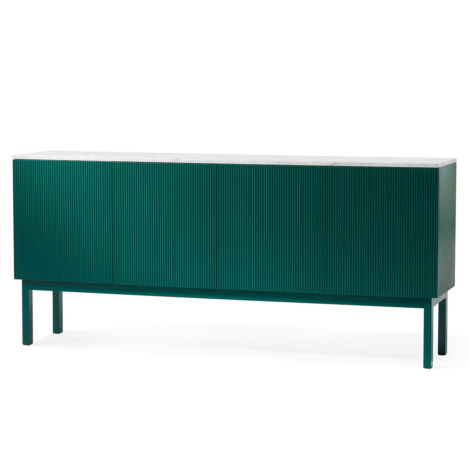 Beam Cabinet, Green/Green Marble