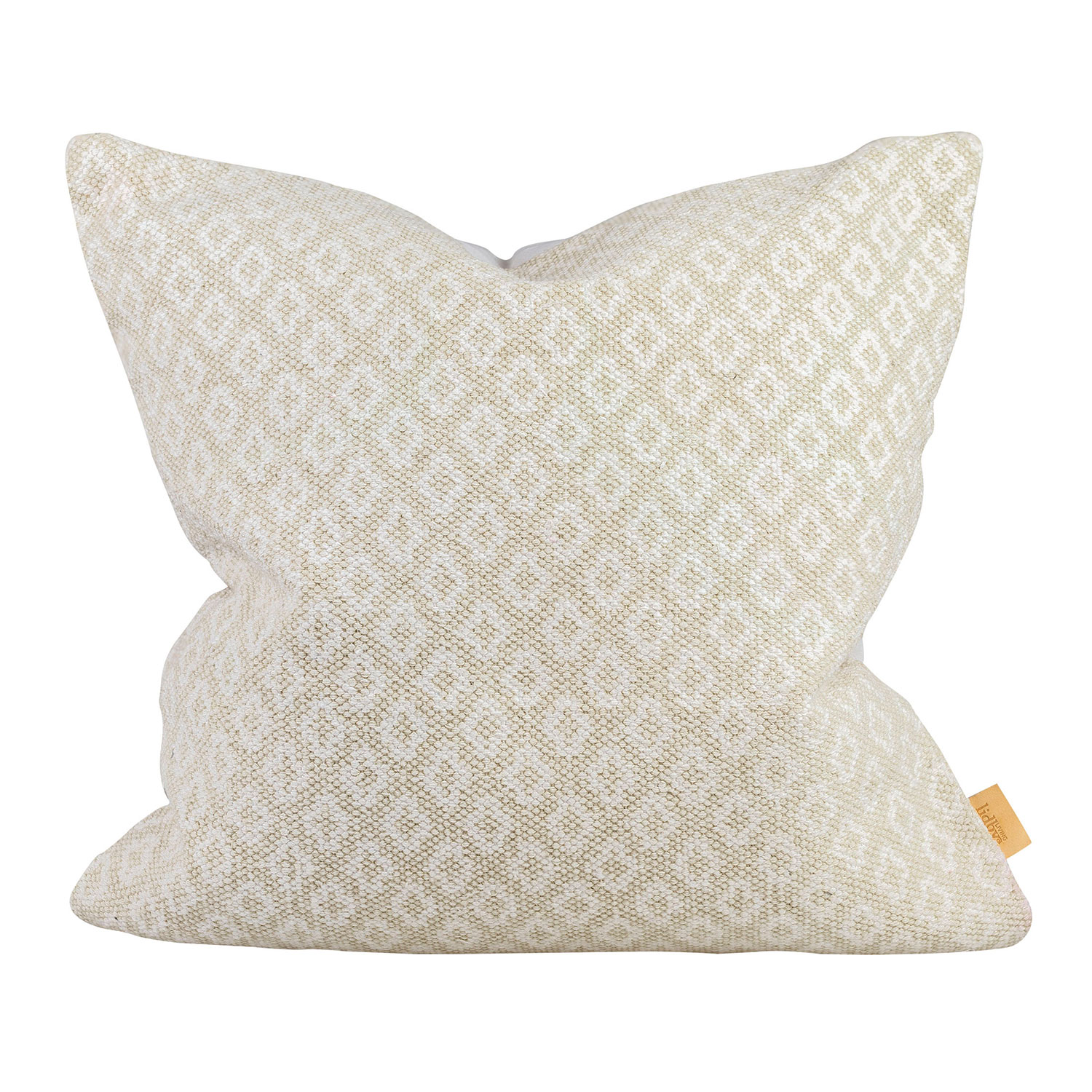 India Vintage Cushion Cover, Warm Grey